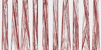 Drawing Digital Art - Red.326 by Gareth Lewis