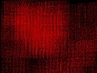 Vertical Digital Art - Red.91 by Gareth Lewis