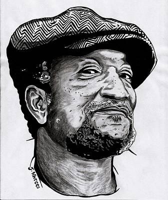 Harlem Drawing - Redd Foxx by Jeremy Waters