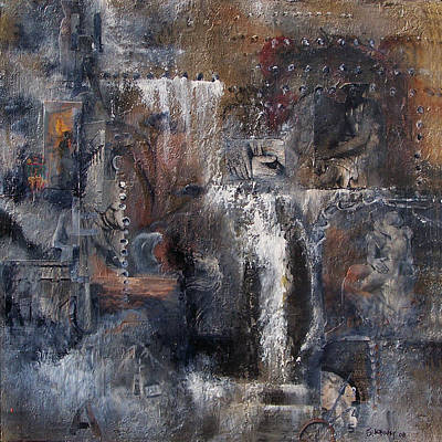 Ruins Mixed Media - Redemption by Suzanne Kfoury