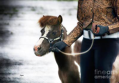 Horse Show Digital Art - Redtop  by Steven Digman