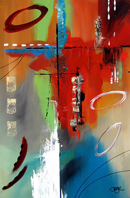 Modern Abstract Mixed Media - Reduction by Tom Fedro - Fidostudio