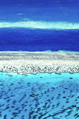 Helicopter Photograph - Reefs Edge by Az Jackson