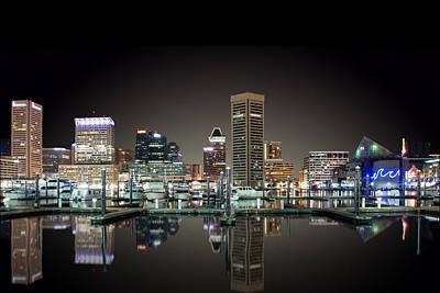 Reflecting On Baltimore Original by George Stavrakis