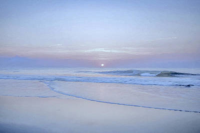 Beach Digital Art - Reflection 5 by Lonnie Christopher