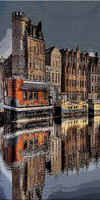 Reflection Bay Print by Jacquin