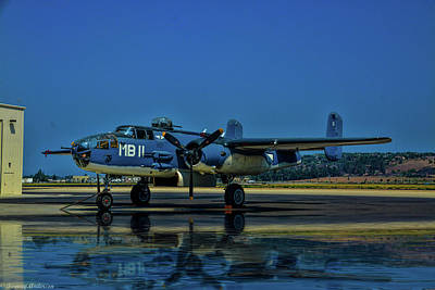 Photograph - Reflection Of A Mitchell by Tommy Anderson