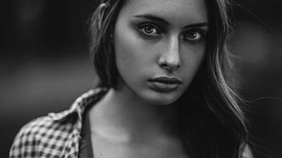 Freckles Photograph - Reflection Of The Soul by Pavel Lepeshev