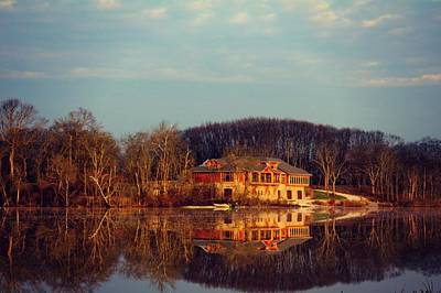 Columbus Drive Photograph - Reflection On Scioto  by Kathy Henderson
