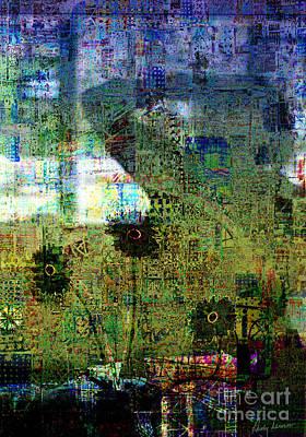 Camera Mixed Media - Reflections 3b by Andy  Mercer