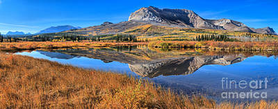 Reflections Along The Chief Joseph Scenic Highway Print by Adam Jewell