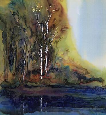 Reflections Print by Carolyn Doe