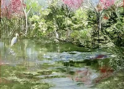 Reflections Print by Jacqueline Whitcomb