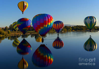 Baskets Photograph - Reflections Of Seven by Mike Dawson