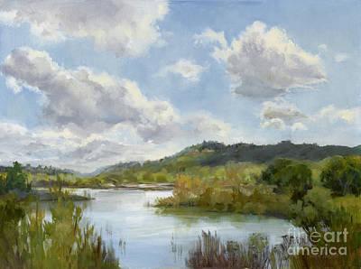 Reflections Of Springtime Original by Karen Winters