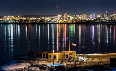 Miner Photograph - Reflections Of Syracuse by Everet Regal