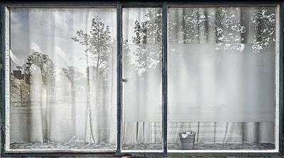 Leiden Photograph - Reflective Window by Susanne Stoop