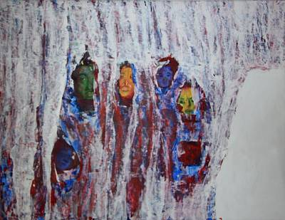 Refugees Print by Rosemen Elsayad