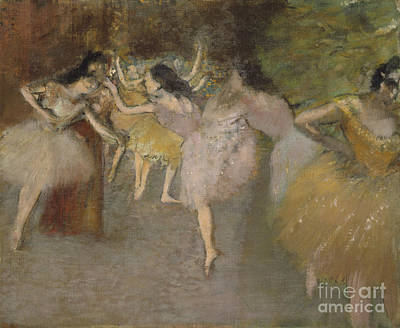 Ballet Painting - Rehearsal Before The Ballet, by MotionAge Designs