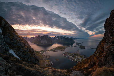 Lofoten Photograph - Reine by Tor-Ivar Naess