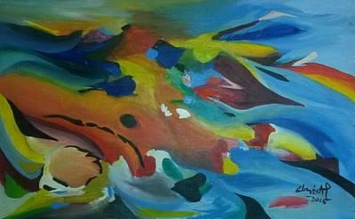 Ap Painting - Rejoice by Clovis AP