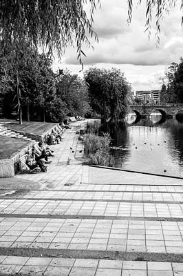 Orebro Photograph - Relaxing In The Park by Jimmy Karlsson