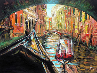 Relaxing Venice Afternoon Original by Nathan Lewis