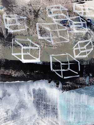 Released- Abstract Art Print by Linda Woods