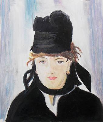 Remake Portrait Of Berthe Morisot Original by Keshava Shukla