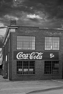 Coca Cola Sign Photograph - Remember 5 Cents by Tim Wilson