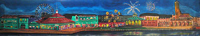 Asbury Park Painting - Remember When by Patricia Arroyo
