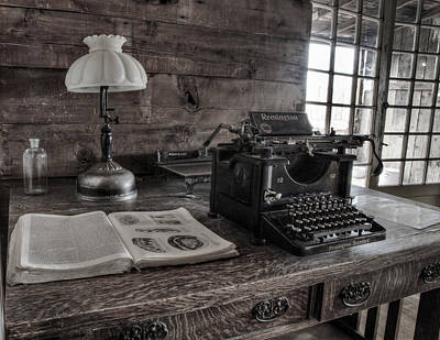 Old West Photograph - Remington Standard  by David Wagner