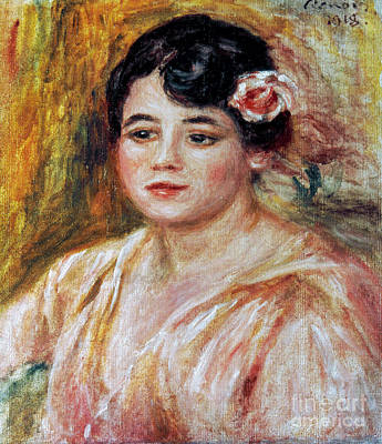 Adele Photograph - Renoir: Adele Besson, 1918 by Granger