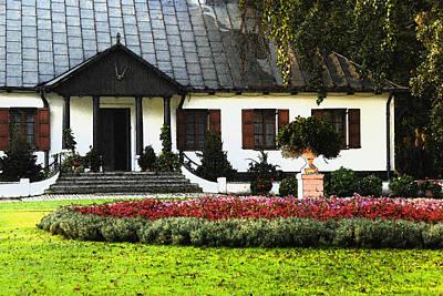 Renovation Painting - Renovated Manor House by Arkadiusz  Wlodarczyk