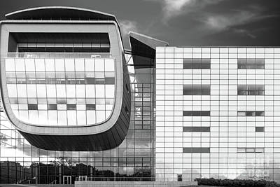 Rensselaer Polytechnic Institute Empac Print by University Icons