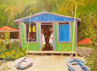 Painting - Rental Shop by Keith Wilkie
