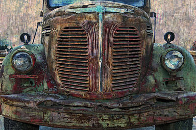 Old Trucks Photograph - Reo Speedwagon - 2 by Ed Hall
