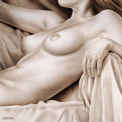 Painting - Repose by AD Cook