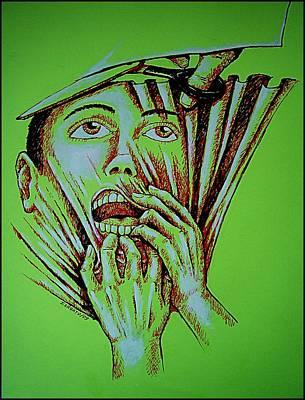 Repression Print by Paulo Zerbato