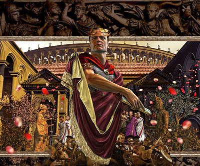 Republic Of Rome Print by Kurt Miller