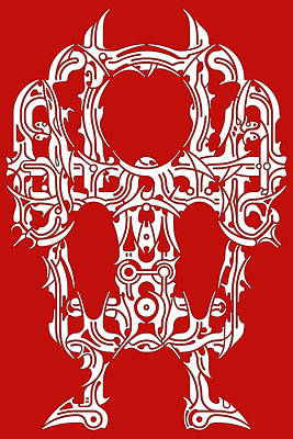 Hopi Drawing - Requiem II by David Umemoto