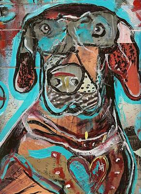 Follow Your Bliss Mixed Media - Rescued Heart by Robert Wolverton Jr