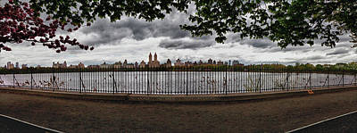 Daniel Photograph - Reservoir Panorama by Robert Ullmann