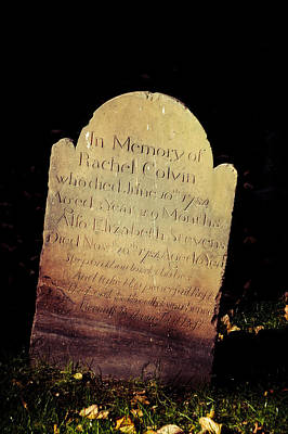 Rest In Peace Rachel Colvin Print by Trish Tritz