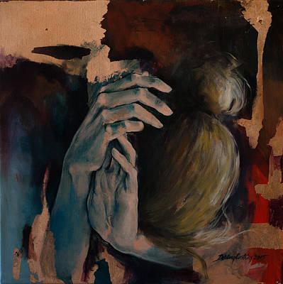Restlessness Print by Dorina  Costras