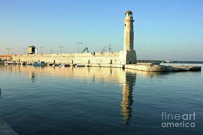 Photograph - Rethymno Lighthouse. by Fine art Photographs