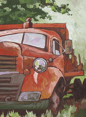 Grill Painting - Retired by Sandy Tracey