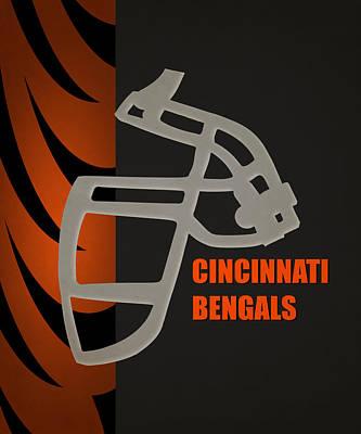 Cincinnati Photograph - Retro Bengals Art by Joe Hamilton
