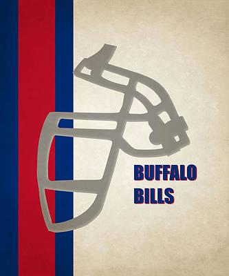 Buffalo Photograph - Retro Bills Art by Joe Hamilton