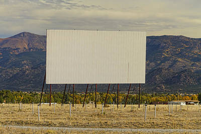 Retro Drive-in Theater Print by James BO  Insogna